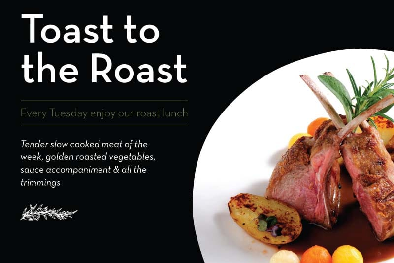 Toast the Roast at Verde Restaurant